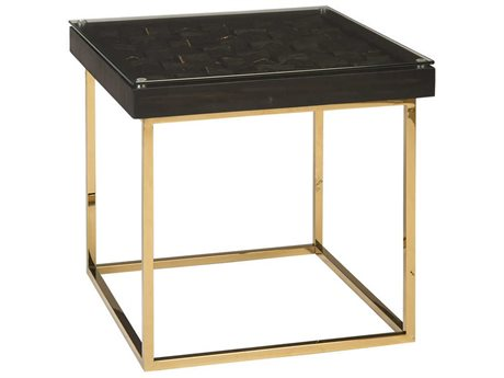 Phillips Collection Polish Brass 23'' Wide Square End Table