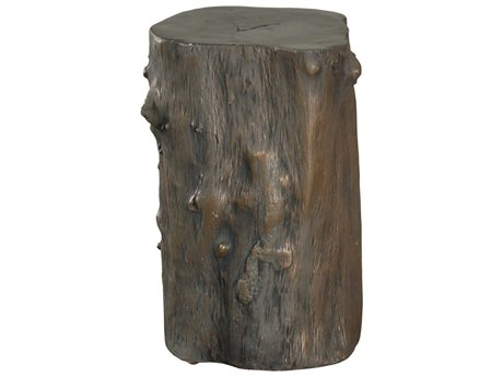 Phillips Collection Log Bronze Accent Stool PHCPH56722