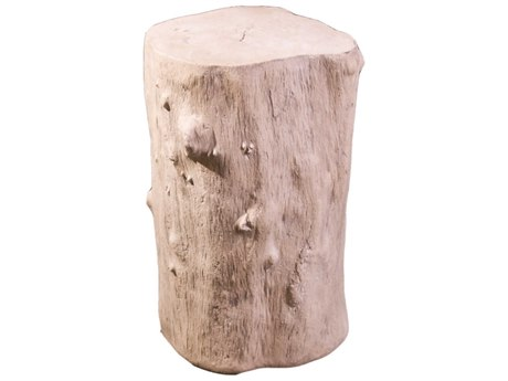 Phillips Collection Log Roman Stone Accent Stool