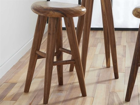 Phillips Collection Smoothed Natural Side Bar Height Stool