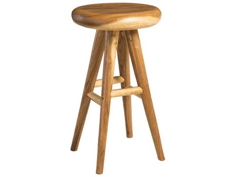 Phillips Collection Smoothed Brown Side Bar Height Stool