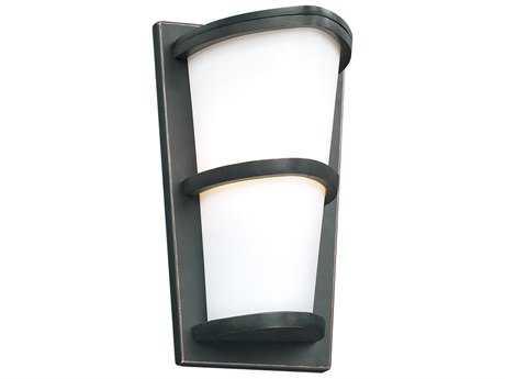 PLC Lighting Alegria Oil Rubbed Bronze Incandescent Outdoor Wall Light