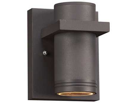 PLC Lighting Boardwalk-I Bronze LED Outdoor Wall Light