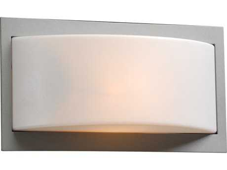 PLC Lighting Breda Silver Incandescent Outdoor Wall Light (Sold in 2) PLC1742SL
