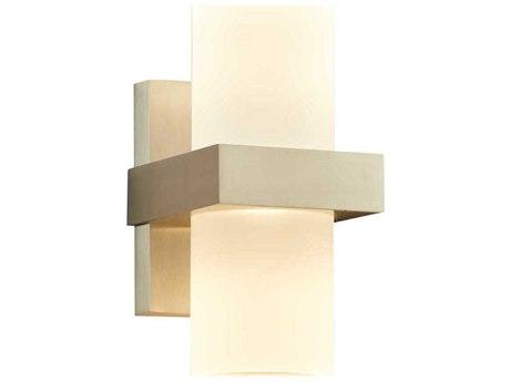 PLC Lighting Breeze Bronze Aluminium 5'' Wide LED Wall Light PLC4056BA