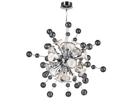 PLC Lighting Circus Polished Chrome 36'' Wide 16-Light Pendant PLC81385PC