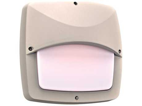 PLC Lighting Clarendon-II Silver Two-Light Incandescent Outdoor Wall Light
