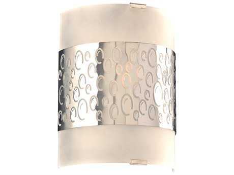 PLC Lighting Clifton Polished Chrome Incandescent Vanity Light PLC7585PC