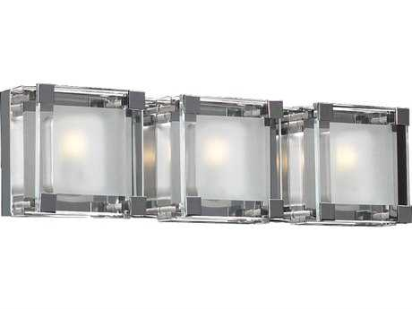 PLC Lighting Corteo Polished Chrome Three-Light Vanity Light PLC18143PC