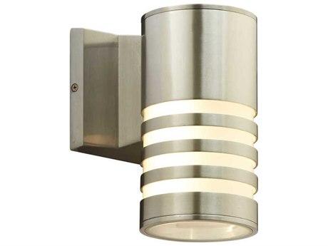 PLC Lighting Decker Bronze Aluminium 5'' Wide LED Wall Light PLC4065BA