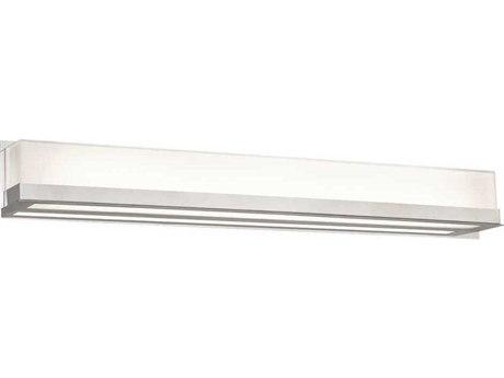 PLC Lighting Delphina Polished Chrome 36'' Wide LED Vanity Light PLC55036PC
