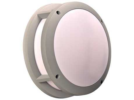 PLC Lighting Erich Silver Incandescent Outdoor Wall Light (Sold in 3)