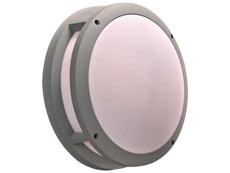 PLC Lighting Erich Silver Two-Light Incandescent Outdoor Wall Light (Sold in 2)