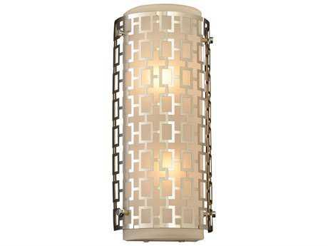 PLC Lighting Ethen Polished Chrome Two-Light Incandescent Vanity Light PLC12151PC