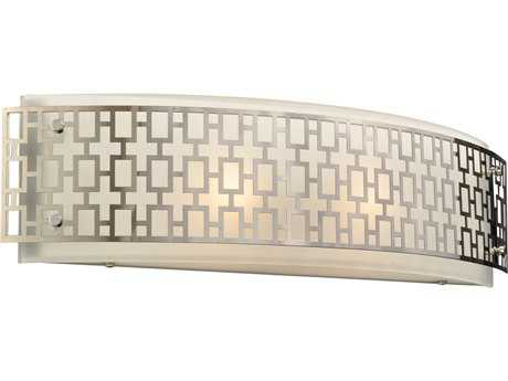 PLC Lighting Ethen Polished Chrome Two-Light Incandescent Vanity Light PLC12155PC