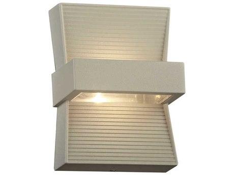 PLC Lighting Fiona Silver 5'' Wide LED Wall Light PLC2260SL
