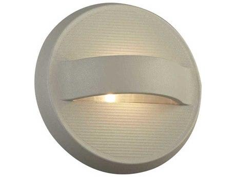 PLC Lighting Fiona Silver 7'' Wide LED Wall Light PLC2262SL