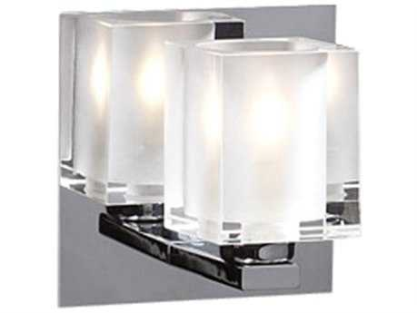 PLC Lighting Glacier Polished Chrome Wall Sconce (Sold in 3) PLC3481PC