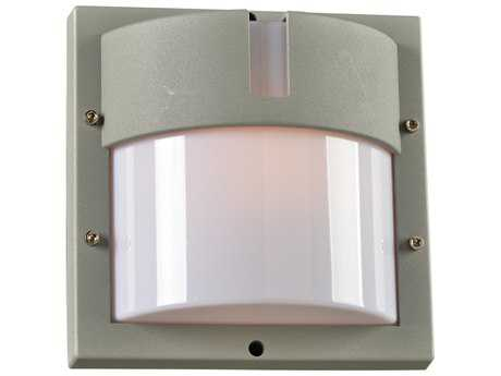 PLC Lighting JEDI Silver Incandescent Outdoor Wall Light (Sold in 3)