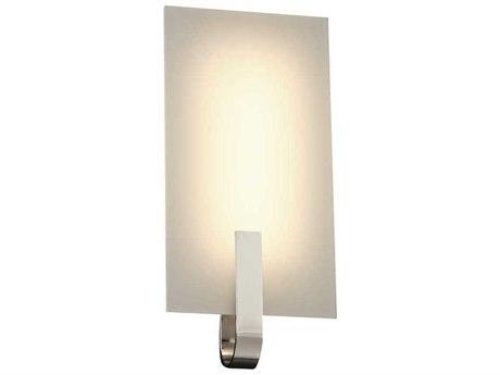 PLC Lighting Kent Polished Chrome 6'' Wide LED Wall Sconce