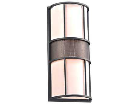 PLC Lighting Larissa Bronze Two-Light Incandescent Outdoor Wall Light
