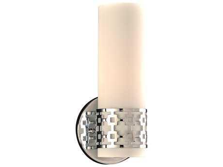 PLC Lighting Leila Polished Chrome Incandescent Vanity Light (Sold in 2) PLC7566PC
