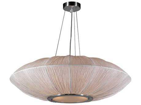 PLC Lighting Mars Ivory 34'' Wide Four-Light Incandescent Pendant PLC73012IVORY