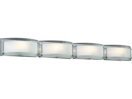 PLC Lighting Millennium Polished Chrome Four-Light Halogen Wall Sconce PLC7848PC