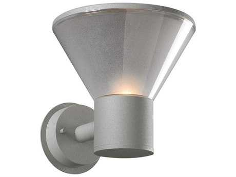 PLC Lighting Nautica Silver Incandescent Outdoor Wall Light (Sold in 2)
