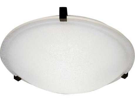 PLC Lighting Nuova 12'' Wide Halogen Flush Mount Light (Sold in 2) PLC3453