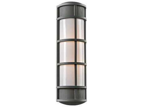 PLC Lighting Olsay Bronze Two-Light Incandescent Outdoor Wall Light