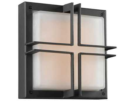 PLC Lighting Piccolo Bronze Incandescent Outdoor Wall Light