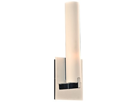 PLC Lighting Polipo Polished Chrome 5'' Wide LED Wall Sconce