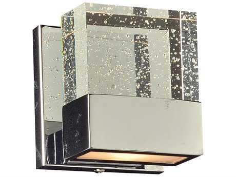 PLC Lighting Regis Polished Chrome Halogen Vanity Light (Sold in 2) PLC1651PC
