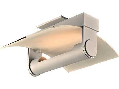 PLC Lighting Saila Silver LED Wall Sconce PLC1384SL
