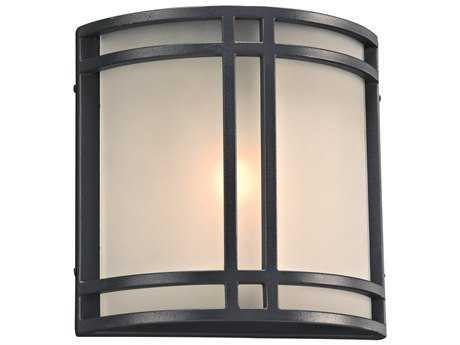 PLC Lighting Summa Bronze Incandescent Outdoor Wall Light (Sold in 2)