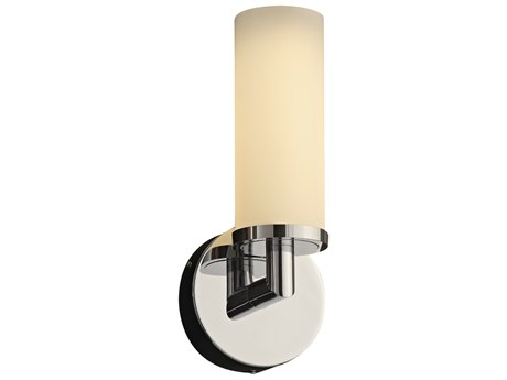 PLC Lighting Surrey Polished Chrome 5'' Wide LED Wall Sconce