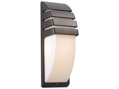 PLC Lighting Synchro Bronze Incandescent Outdoor Wall Light (Sold in 2)