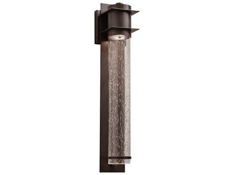 PLC Lighting Takato Oil Rubbed Bronze 1-light Glass Outdoor Wall Light