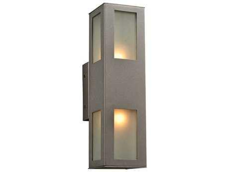 PLC Lighting Tessa Bronze Two-Light Incandescent Outdoor Wall Light PLC8041BZ