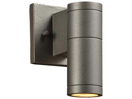 PLC Lighting Troll-I Bronze Incandescent Outdoor Wall Light (Sold in 2)