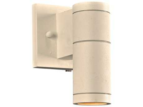 PLC Lighting Troll-I White Incandescent Outdoor Wall Light (Sold in 2)