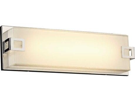 PLC Lighting Tucker Polished Chrome 16'' Wide LED Vanity Light PLC3341PC