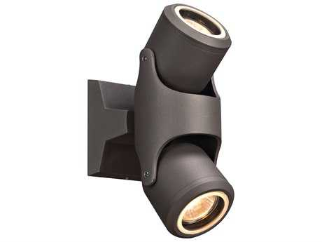 PLC Lighting Vela Bronze Two-Light LED Outdoor Wall & Ceiling Light PLC2090BZ
