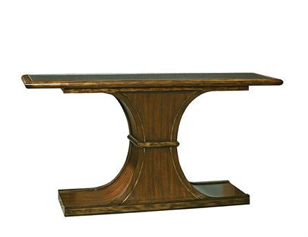 Port Eliot Mahogany 59'' Wide Rectangular Console Table