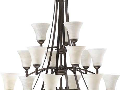 Quorum International Aspen Oiled Bronze 15-Light 40'' Wide Chandelier QM61771586
