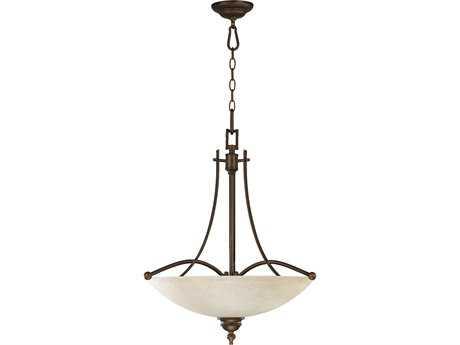 Quorum International Aspen Oiled Bronze Four-Lights Pendant Light QM8177486