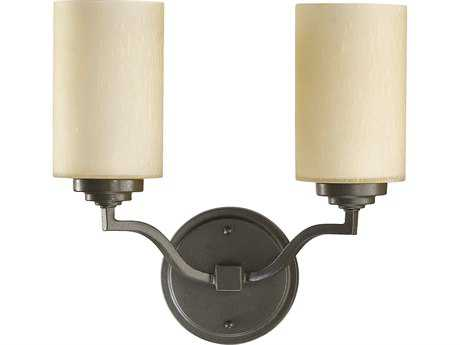 Quorum International Atwood Oiled Bronze Two-Lights Wall Sconce QM5496286