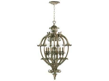 Quorum International Barcelona Mystic Silver Six-Light 20'' Wide Pendant Light QM6800658