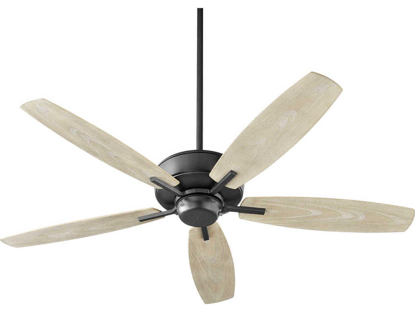 Quorum Breeze Noir 52 Wide Outdoor Ceiling Fan Qm1705269